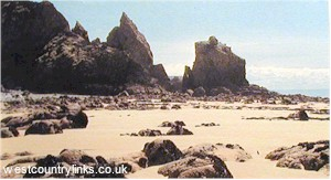 Holiday cottages in Cornwall near family friendly beaches.